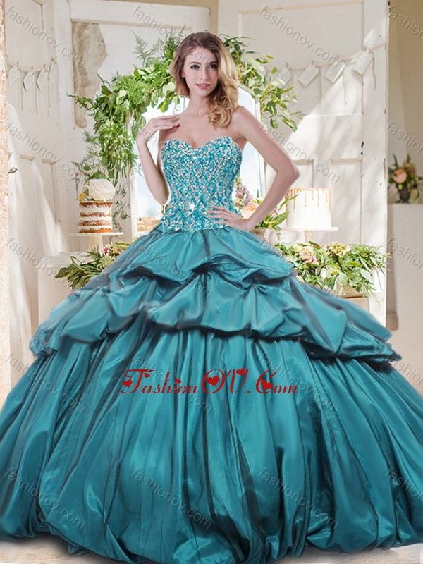 The Most Popular Really Puffy Best Quinceanera Dresses with Beading and Pick Ups
