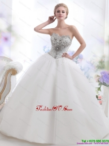 High End 2015 Beading and Appliques Wedding Dresses
