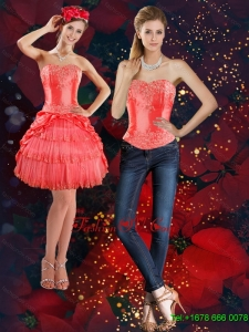 Detachable Strapless 2015 Prom Skirts with Beading and Pick Ups
