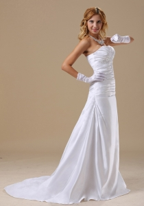 Strapless Appliques Custom Made Bodice For Wedding Dress