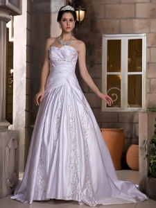 Beaded Ball Gown Bridal Dresses Tulle Sweetheart