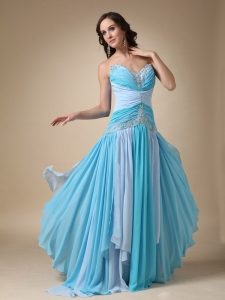 Beading Prom Dress Multi-color Sweetheart 2013