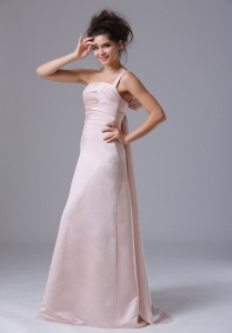 PalePink One Shoulder 2013 Prom Dress Taffeta Ruched