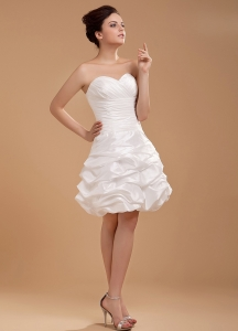 Custom Made For 2013 Wedding Dress With Sweetheart and Pick-ups