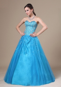 Beading Decorate Bodice Sweetheart Prom / Evening Dress