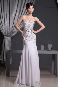 Beaded Sweetheart Prom Evening Dress for Spring Party