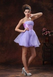 Lilac Beaded Prom Homecoming Dress for Cocktail