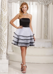 Multi-color Ruffled Layers Dama Dress for Quince Summer