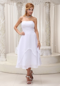 Dama Dresses for Quinceanera Ruched Strapless Chiffon