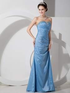 Column Sweetheart Floor-length Prom Pageant Dress