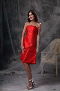 Round Neckline Knee-length Prom Holiday Dress