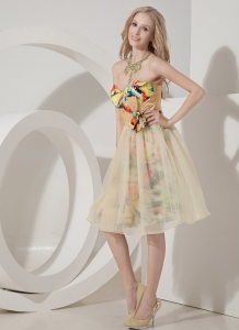 Colorful Sweetheart Beading Cocktail Graduation Dresses