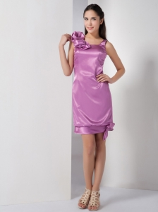 Prom Graduation Dress Mini-length Lavender