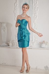 Column Prom Homecoming Dress Sweetheart Taffeta