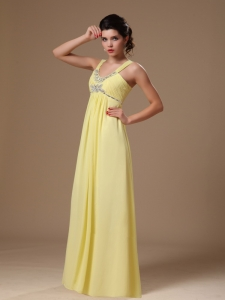 Empire Graduation Cocktail Dress Sweetheart Chiffon