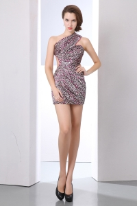 Sexy Column Prom Homecoming Dress One Shoulder