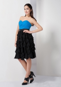 Blue Little Black Cocktail Dresses Black A-line