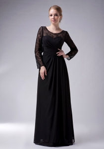 Empire Scoop Floor-length Mother Of The Bride Dress