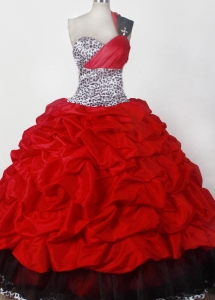 Elegant One Shoulder Little Girls Pageant Dress Ball Gown
