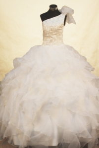 Beaded Flower Girl Pageant Dresses Exquisite
