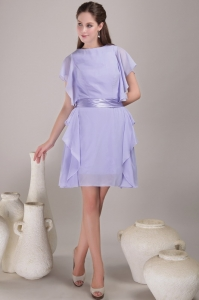Empire Mini-length Chiffon Mother Of The Bride Dress