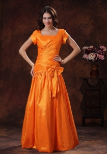 New Mother Of The Bride Dress Style Hot Orange Square