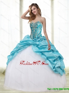 Gorgeous Multi Color Sweet Sixteen Dresses with Embroidery