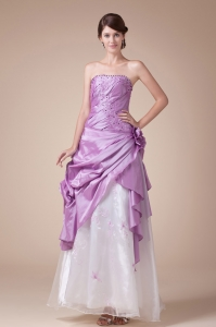 2013 New Arrival A-Line / Princess Strapless Prom Dress