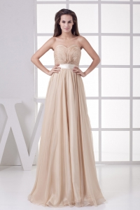Most Popular 2013 Ruched Sweetheart Empire Long Prom Dress