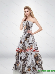 Pretty Sweetheart Multi Color Camo Wedding Dresses