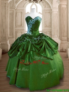 New Style Big Puffy Quinceanera Dress with Beading and Ruffles