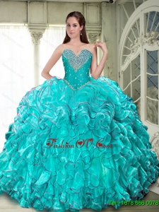 Classical Ball Gown Sweetheart Quinceanera Dresses for 2015 Fall