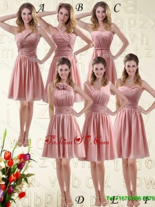Pretty Sweetheart Empire Chiffon Dama Dresses with Ruching