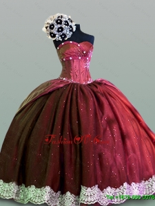 Custom Made Quinceanera Dresses in Taffeta for 2015