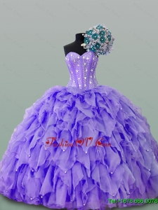 Gorgeous Quinceanera Dresses with Beading and Ruffles for 2015