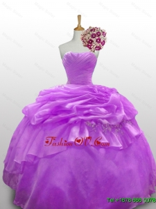 2015 New Style Quinceanera Dresses with Beading and Paillette
