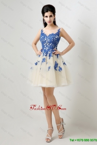New Arrivals Exquisite Latest A Line Bateau Prom Dresses with Appliques