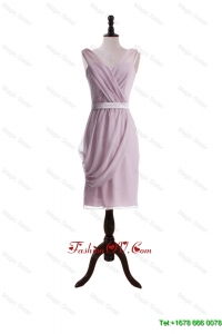 New Arrival Belt Short Prom Dresses for Holiday