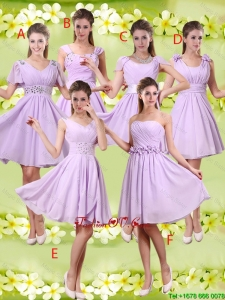 Discount A Line Lavender prom Dresses with Beading
