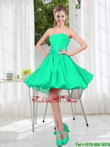 A Line Sweetheart Belt Modest Prom Dresses for Party