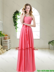 Discount 2016 Prom Dresses with Sashes and Ruching
