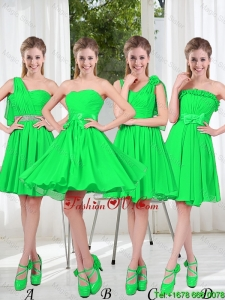 Perfect A Line Short Modest Prom Dress with Ruching