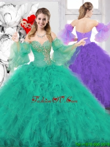 New Style Ball Gown Sweetheart Quinceanera Dresses for 2016 Spring