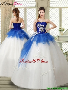 Popular Sweetheart Beading Quinceanera Gowns with Zipper Up