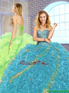 Hot Sale Floor Length Quinceanera Dresses with Lace Up