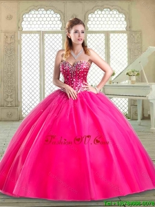 Perfect Sweetheart Beading Classic Quinceanera Dresses