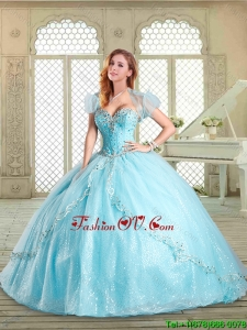 Beautiful Sweetheart Beading Pretty Quinceanera Dresses for 2016