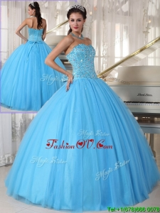 Custom Made Sweetheart Ball Gown Beading Sweet 16 Dresses