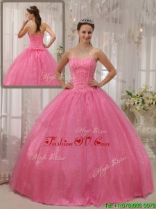 Designer Ball Gown Sweetheart Beading Quinceanera Dresses