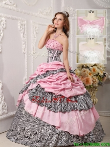 Cheap Ball Gown Beading Sweet Sixteen Dresses in Multi Color